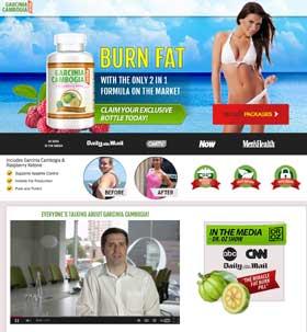 Garcinia cambogia Extra website