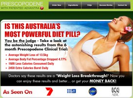 Prescopodene Australian website