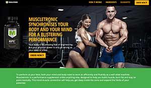 Muscltronic website