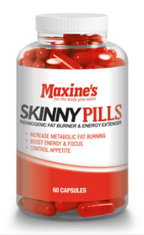 Maxine's Skinny Pills Bottle
