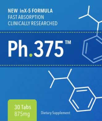 Ph.375 Bottle Label
