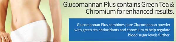 Glucomannan Plus with green tea