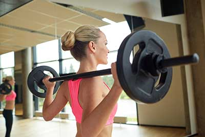 Woman Strength Weights