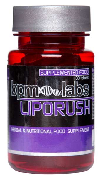 LipoRush Fat Burner Tablets