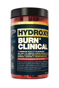 HydroxyBurn Clinical Bottle